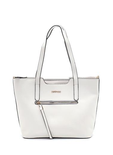 Derimod Kadın Çanta (9086-1) Casual Beyaz